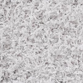 Gaaien-frutsels Papieren sliertjes White