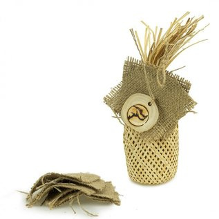 Back Zoo Nature BZN Woven Bag with Jute
