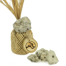 Back Zoo Nature BZN Woven Bag with Lava Stones