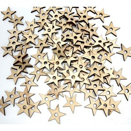 Naturel pine star