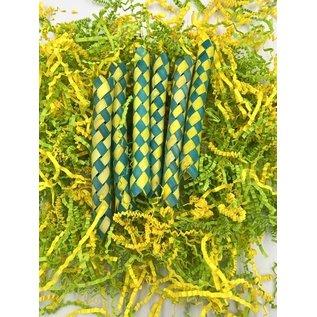 Gaaien-frutsels Sliertjes en fingertraps geel/groen