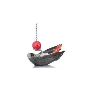Aviator Babble Ball voor Papegaaien met ketting