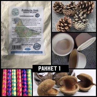 Gaaien-frutsels Arabisch pakket 1