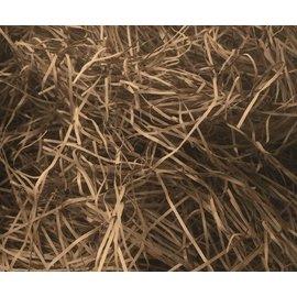 Gaaien-frutsels Papieren sliertjes bruin fijn