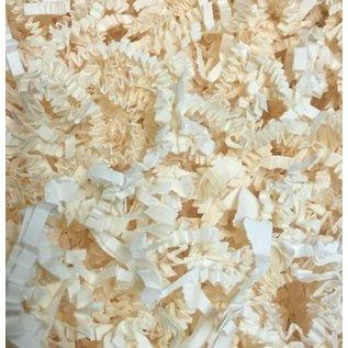 Gaaien-frutsels Papieren sliertjes ivoor