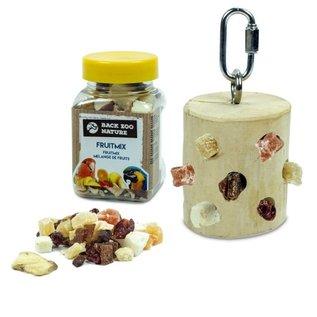 Back Zoo Nature Back Zoo Nature Treat Silo JAVA + GRATIS fruitmix 65 gram