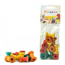 Petlala Petlala Wooden Pillars Small 12 st
