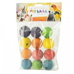 Petlala Petlala Wooden Balls Large 12 st