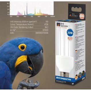 Bird Systems Bird Systems Compact Lamp PRO (UV-A en UV-B) 20W