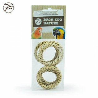Back Zoo Nature Back Zoo Nature Woven Rings - Pack of 6
