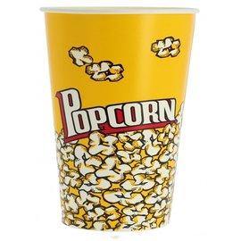 Papieren Popcorn beker
