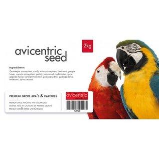Avicentric AviCentric Premium Grote Ara's en Kaketoes 2kg
