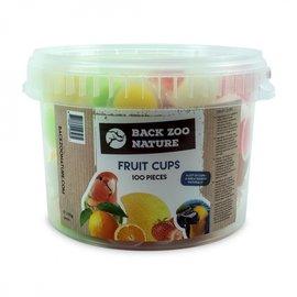 Back Zoo Nature Back Zoo Nature Fruitkuipjes Mix 100 stuks in emmer