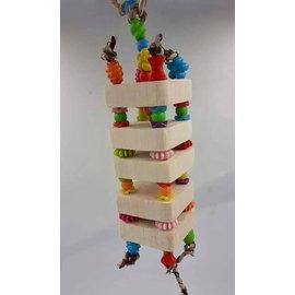 Gaaien-frutsels Balsa toren