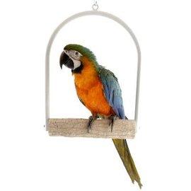Papegaaien schommel met slijtstok 30 cm