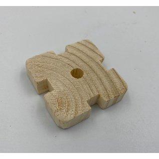 Gaaien-frutsels Knabbels 1cm