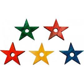 Zoo-Max Gekleurde houten ster