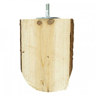Back Zoo Nature Wood Slice Perch Small