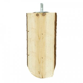 Back Zoo Nature Wood Slice Perch Large