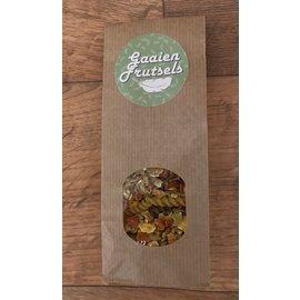 Gaaien-frutsels Pomcette warme hap met pasta
