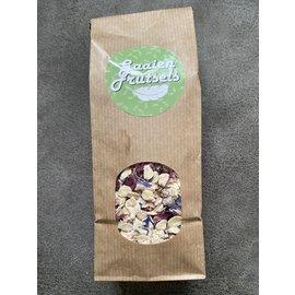 Gaaien-frutsels Bloemige koekjes mix met cashew