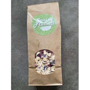 Gaaien-frutsels Bloemige koekjesmix met cashew