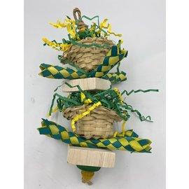 Gaaien-frutsels Easter baskets
