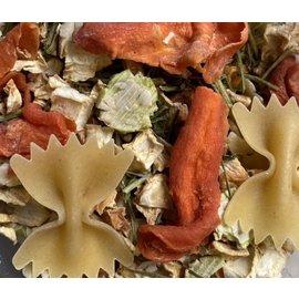 Gaaien-frutsels Boeren mix warme hap