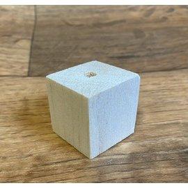 Balsa 3x3x3 cm