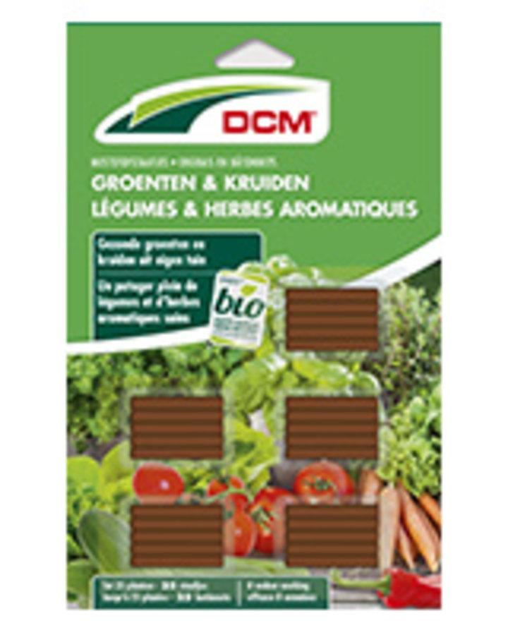 DCM Meststofstaafjes Groenten & Kruiden    Plantbenodigheden