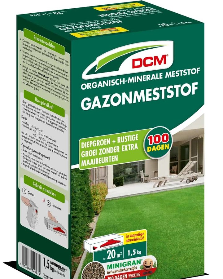 DCM Gazonmeststof | Meststof  | Plantbenodigdheden