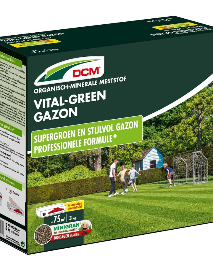 Dcm Vital - green gazon    Plantbenodigheden