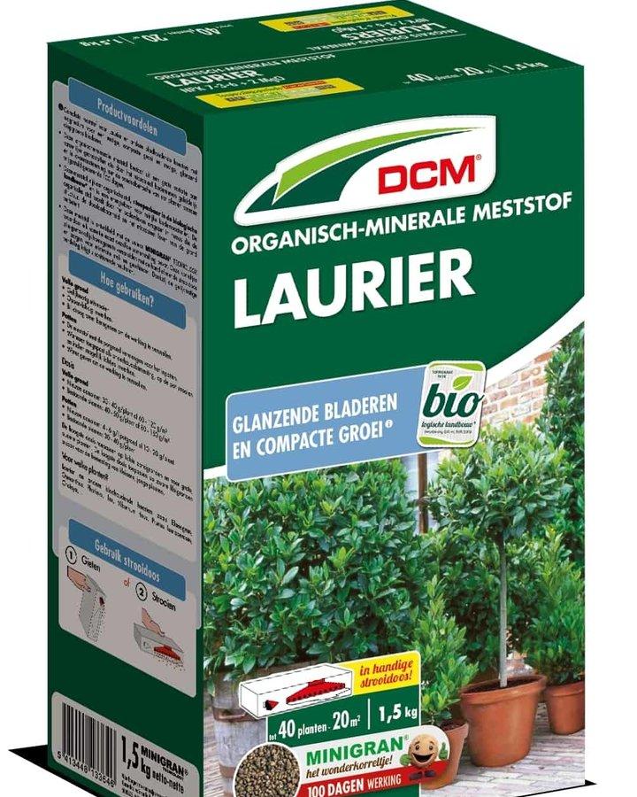 DCM Meststof Laurier & Bladhoudende heesters  | Plantbenodigheden