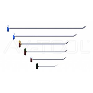 AV Tool 02005 Stainless Steel Rod Set 6 Delig