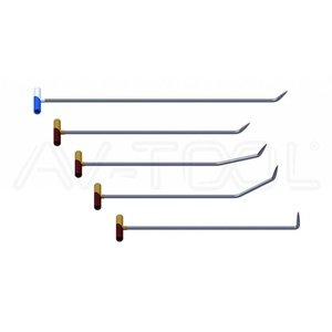 AV Tool 02006 Stainless Steel Rot set 5 Delig