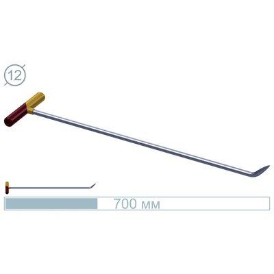 AV Tool 70 CM Stainless Rod 45° Bullet
