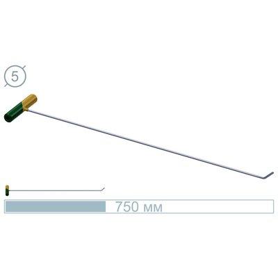 AV Tool 75 CM Stainless Rod 45° Flat