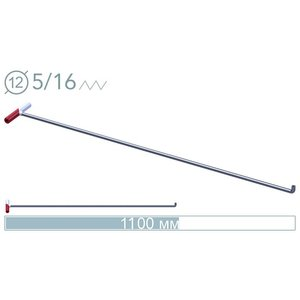 AV Tool 14028D PDR Tool 110 cm 90° screw-on tip rod