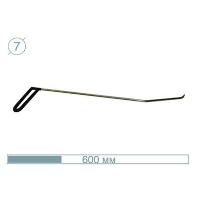 AV Tool 07011 60CM - 15° Hook Stainless snake tool
