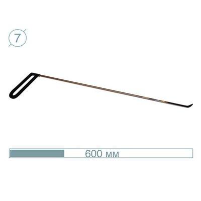 AV Tool 07012 60CM - 45° Hook Stainless snake tool
