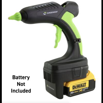 Surebonder PRO2-60 Watt 20 volt Surbonder cordless glue gun Dewalt® Version