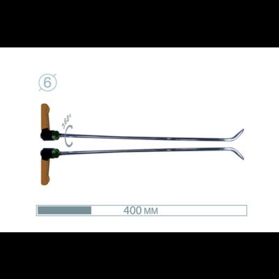 AV Tool 40cm ø6 mm Brace Tool 2 pair 45° 15° adj Razor sharp