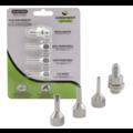 Surebonder Nozzle Assortment - Flat and Round Glue Gun Nozzles
