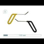 AV Tool 12007-2  150 mm ø5 mm Brace Tool Set 45°