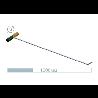 AV Tool 10024  100 CM Stainless Rod 45° Flat ø6 MM