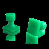 Laka Tools Dent tabadapter groen 20x16mm 5 stuks
