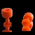 Laka Tools Dent tab adapter orange 10mm