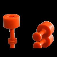 Laka Tools Dent tab adapter orange 7mm 5 PCS