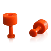 Laka Tools Dent tabadapter oranje 7mm 5 stuks