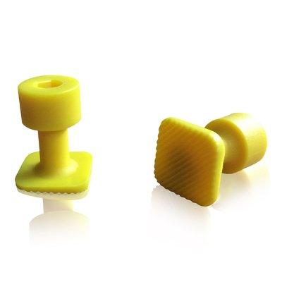 Laka Tools Dent tabadapter geel 15x15mm